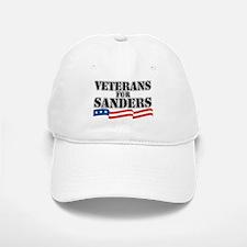 Veterans for Sanders Baseball Baseball Cap