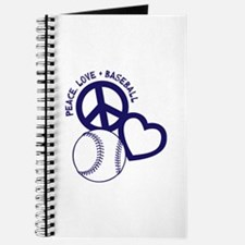 PEACE-LOVE-BASEBALL Journal