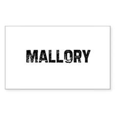 Mallory Rectangle Decal