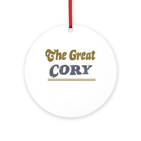 Cory Ornament (Round)