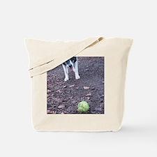Cute Outside of a dog Tote Bag