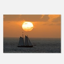 Sunset clouds Postcards (Package of 8)