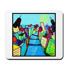 Chicago River View Mousepad