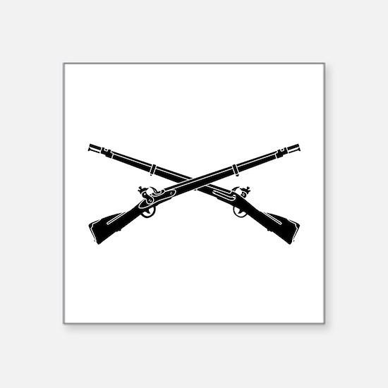 """Funny 2nd ranger battalion Square Sticker 3"""" x 3"""""""