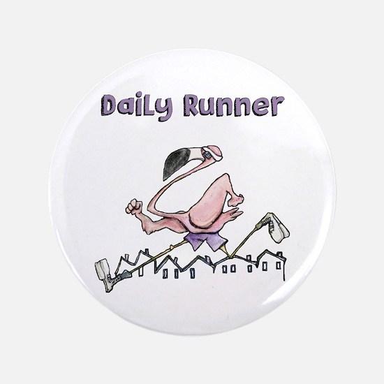 Flamingo Daily Runner Button