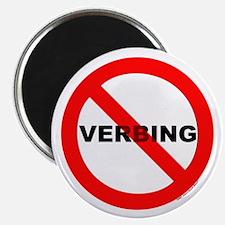 No Verbing Magnet