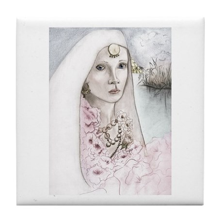 Queen Semiramis wedding picture, original Christian Fantasy art by Janice Moore