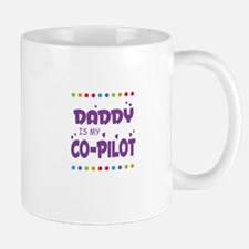 DADDY IS MY COPILOT Mugs