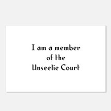 I am a member of the Unseelie Postcards (Package o