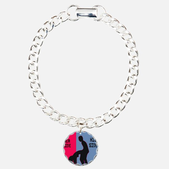 his side sex Charm Bracelet, One Charm