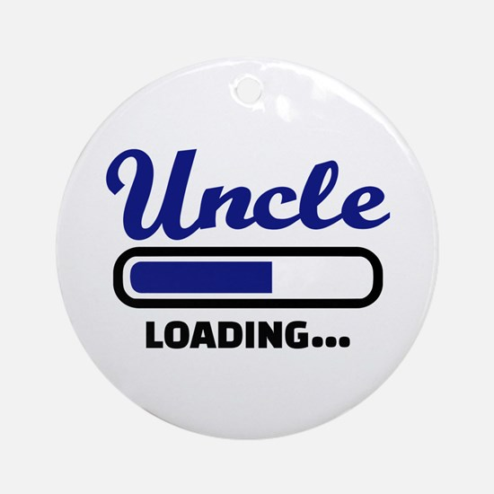 Uncle loading Round Ornament
