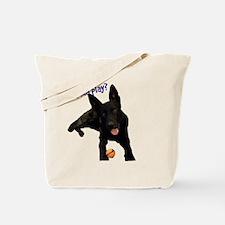 Cute Black aka Tote Bag