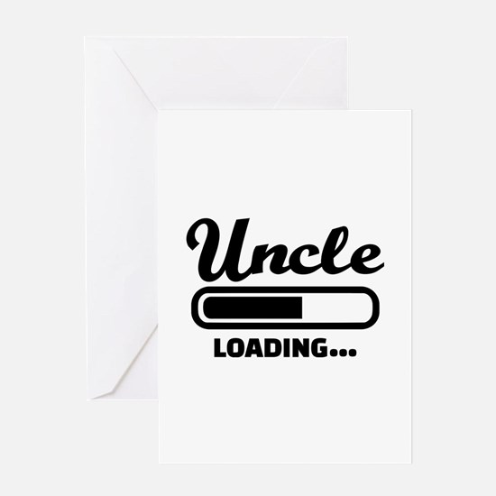 Uncle loading Greeting Card