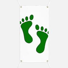 Green Feet Banner