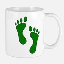 Green Feet Mugs