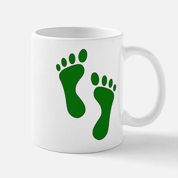 Green Feet Mugs