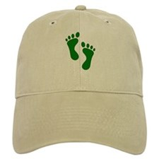 Green Feet Baseball Baseball Baseball Cap
