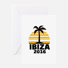 Ibiza 2016 Greeting Card