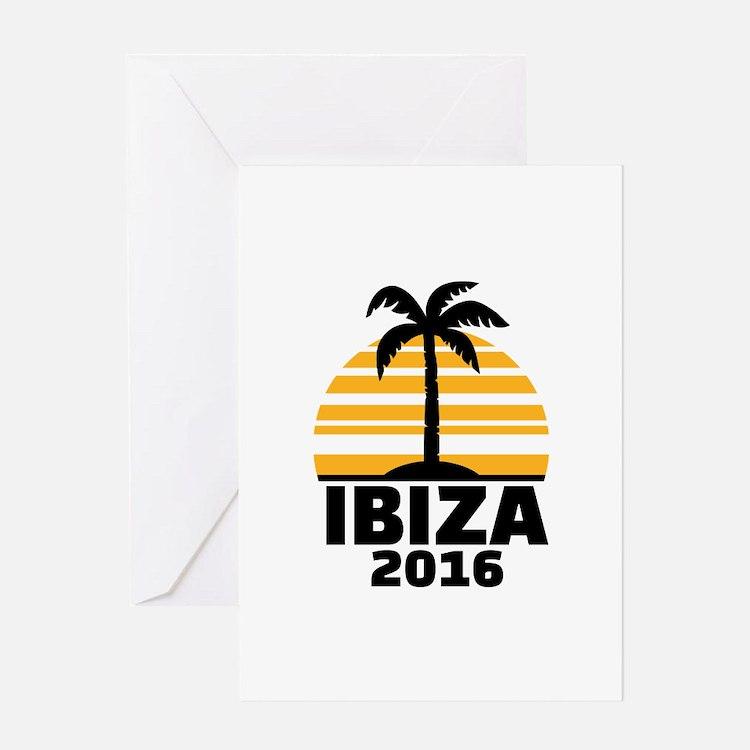 Ibiza 2016 Greeting Card