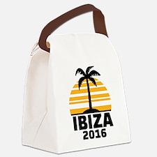 Ibiza 2016 Canvas Lunch Bag