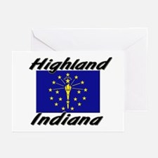 Highland Indiana Greeting Cards (Pk of 10)