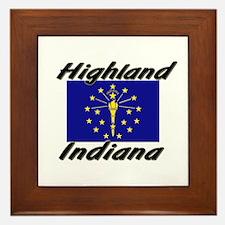 Highland Indiana Framed Tile