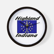 Highland Indiana Wall Clock
