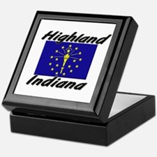 Highland Indiana Keepsake Box