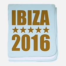 Ibiza 2016 baby blanket