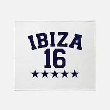 Ibiza 2016 Throw Blanket