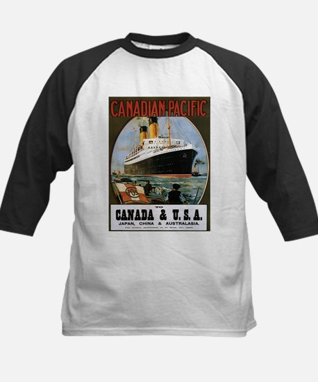 Vintage poster - Canadian Pacific Baseball Jersey