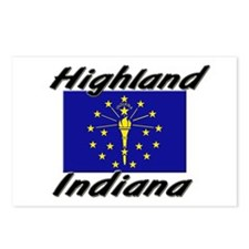 Highland Indiana Postcards (Package of 8)