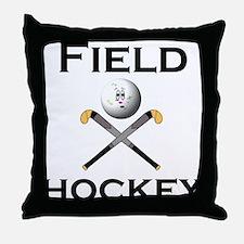 Unique Christmas hockey Throw Pillow