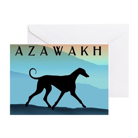 Blue Mountains Azawakh Greeting Cards (Pk of 10)