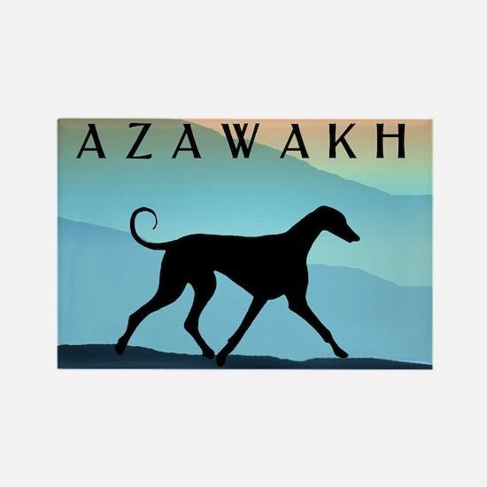 Blue Mountains Azawakh Rectangle Magnet (10 pack)