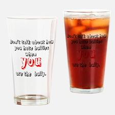 Bullying Awareness Drinking Glass