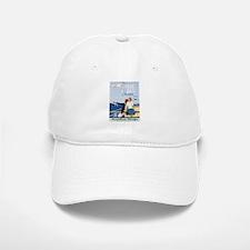 Vintage poster - Great Lakes Cruises Baseball Baseball Cap