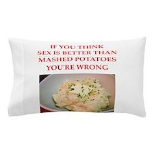 a funny food joke Pillow Case