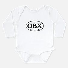 Funny Obx Long Sleeve Infant Bodysuit