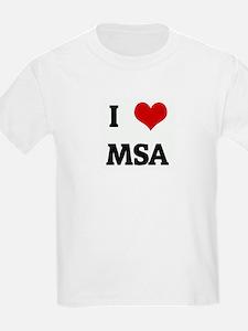 I Love MSA T-Shirt