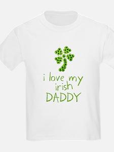 I Love My Irish Daddy T-Shirt