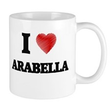 I Love Arabella Mugs