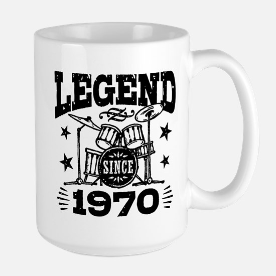 Legend Since 1970 Large Mug
