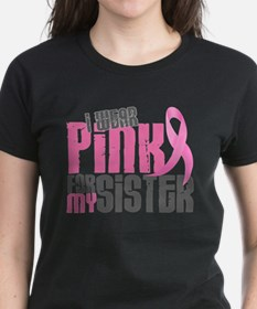 Cute Breast cancer support sister Tee