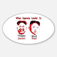 Funny Communism Sticker (Oval)