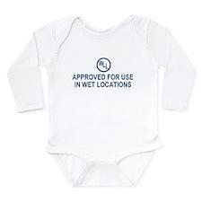 Unique Electric Long Sleeve Infant Bodysuit