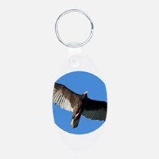 Turkey Vulture in Flight Keychains