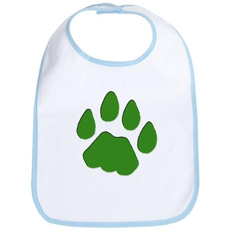 Green Cougar Track Bib