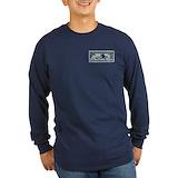 1927 airmail t Long Sleeve T-shirts (Dark)
