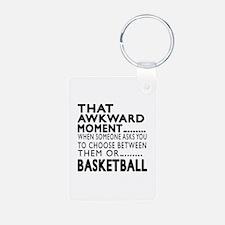 Basketball Awkward Moment Keychains